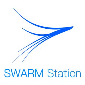 Radio swarmstation space drone